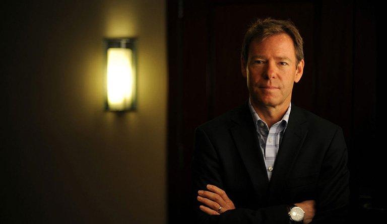 Todd Putnam In A Hallway