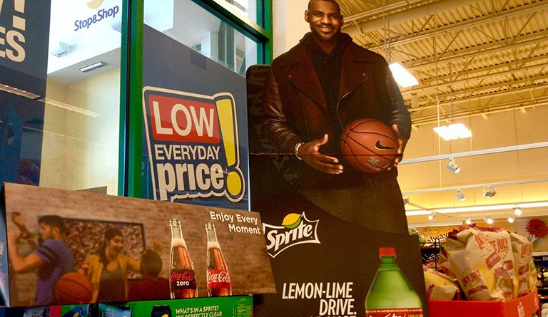 Lebron James Sprite At The Supermarket